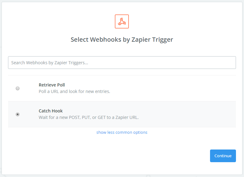 Zapier build-in apps